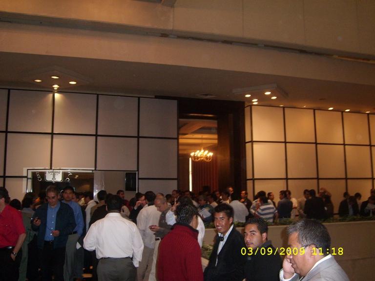 Delphi 2010 Launch in Mexico - Break time
