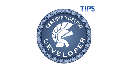Delphi Certified Developer Tips