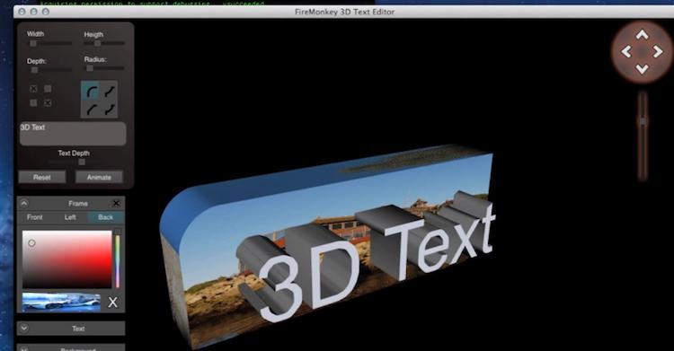 Delphi xe5 update 2 muitas corre es no firemonkey para 3d editor