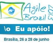 Agile Brazil 2013 - Eu apoio