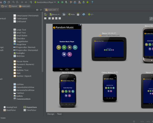 Android Studio multi device preview